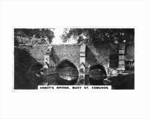 Abbot's Bridge, Bury St Edmunds, Suffolk by Anonymous
