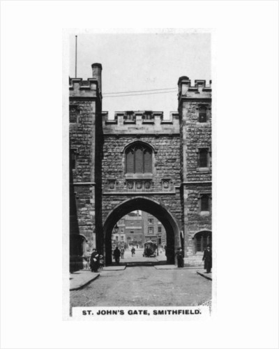 St John's Gate, Clerkenwell, London by Anonymous