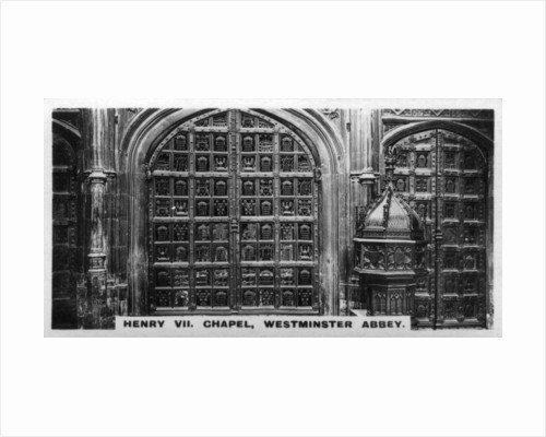 Henry VII Chapel, Westminster Abbey, London by Anonymous