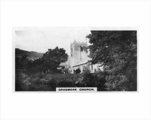 'Grasmere Church', Wordsworth's burial place, Cumbria by Anonymous