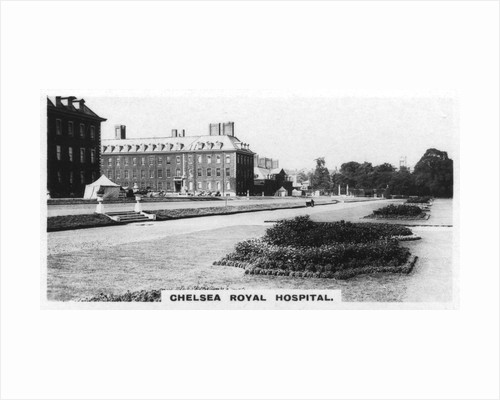 'Chelsea Royal Hospital', London by Anonymous