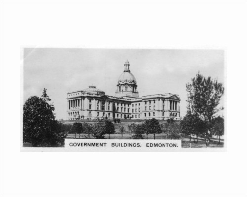 Government Buildings, Edmonton, Alberta, Canada by Anonymous