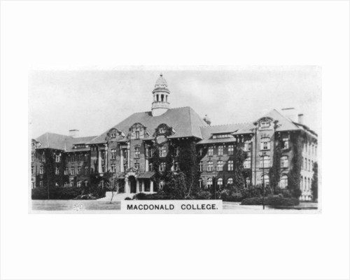 MacDonald College, Montreal, Canada by Anonymous