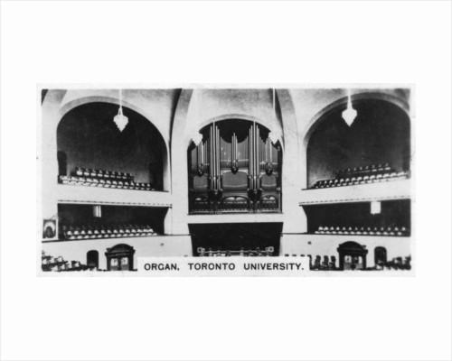 Organ, Toronto University by Anonymous