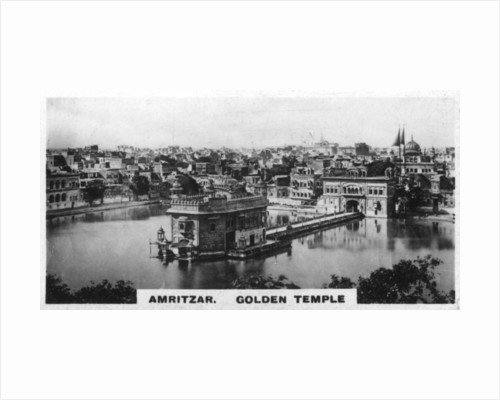 Golden Temple, Amritsar, India by Anonymous