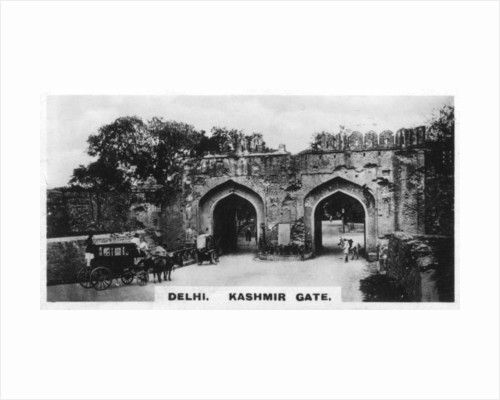 Kashmir Gate, Delhi, India by Anonymous