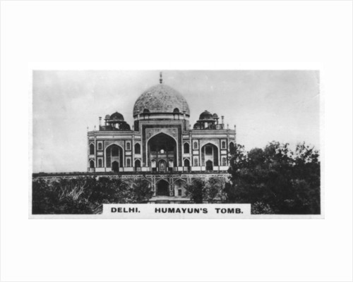 Humayun's tomb, Delhi, India by Anonymous
