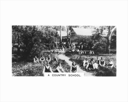 A country school, Australia by Anonymous