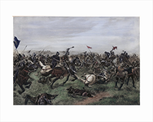 Battle of Agincourt by Anonymous