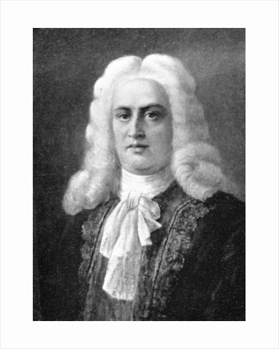 George Frideric Handel, (1685-1759), German Baroque composer by Anonymous