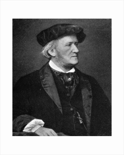 Wilhelm Richard Wagner, (1813-1883), German composer, conductor, music theorist by Anonymous