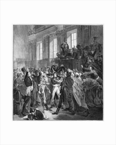 Bonaparte and the Council of Five Hundred at St Cloud by Anonymous
