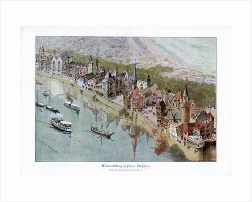 Old Paris, Paris World Exposition by Ewald Thiel