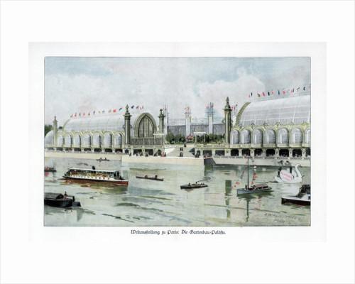 Palace of Horticulture, Paris World Exposition by Ewald Thiel