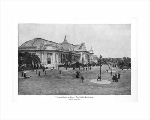 Fine Arts Palace, Paris World Exposition by Anonymous