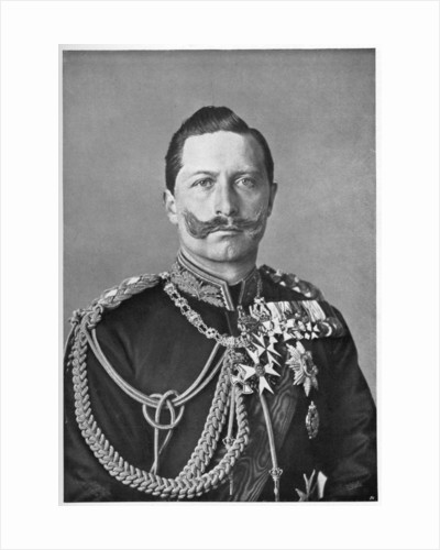 Wilhelm II, Emperor of Germany by Reichard & Lindner