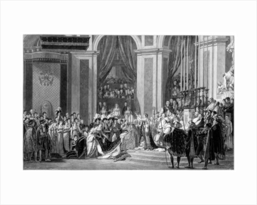 The Consecration of the Emperor Napoleon and the Coronation of the Empress Josephine by Anonymous