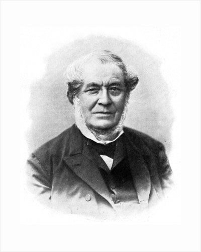 Robert Wilhelm Bunsen, 19th century German chemist by Anonymous