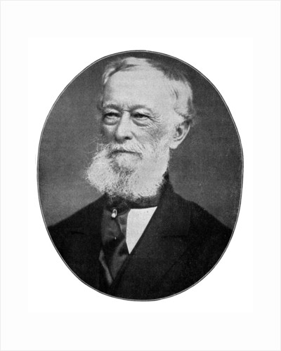 Alfred Krupp, 19th century German metallurgist and industrialist by Anonymous