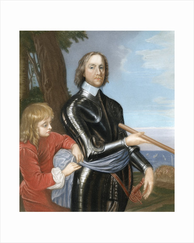 Oliver Cromwell, English military leader and politician by Anonymous