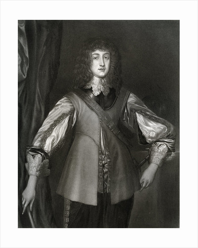 Prince Rupert of the Rhine by Anonymous