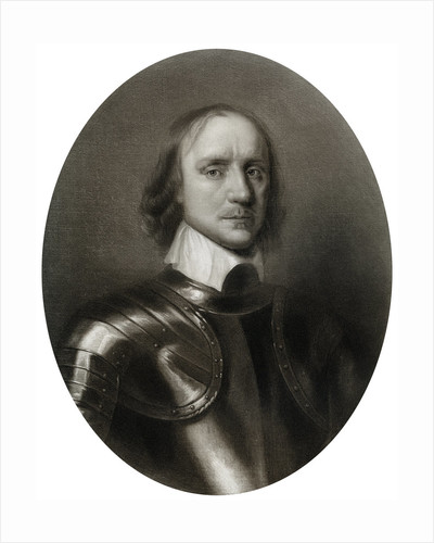 Oliver Cromwell, (1599-1658), English military leader and politician by Anonymous