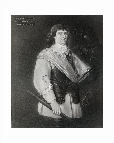 Nathaniel Fiennes, (c1608-1669), English politician by Anonymous