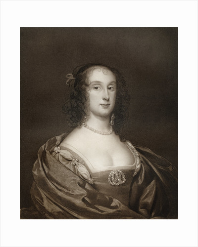 Bridget Fleetwood, eldest daughter of Oliver Cromwell by Anonymous