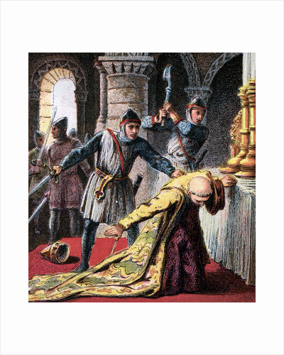 Murder Of Thomas A Becket by Anonymous