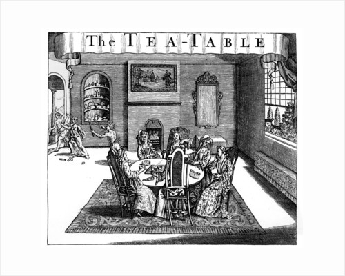 The Tea-Table by Anonymous