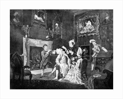 A Gentleman's Dressing Room by J Golder