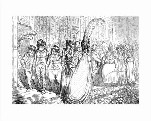 High Change in Bond Street - ou - la Politesse du Grand Monde by Anonymous
