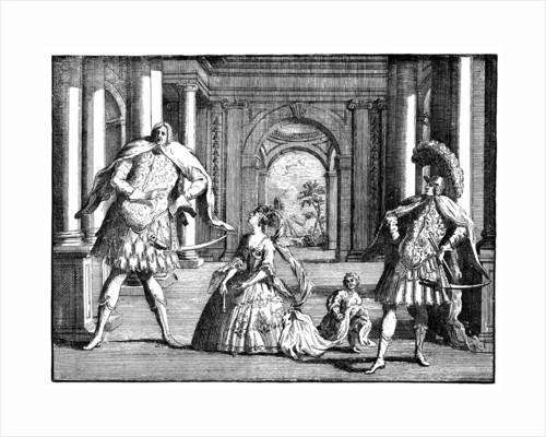'Berenstat, Cuzzoni and Senesino' c1725 by William Hogarth