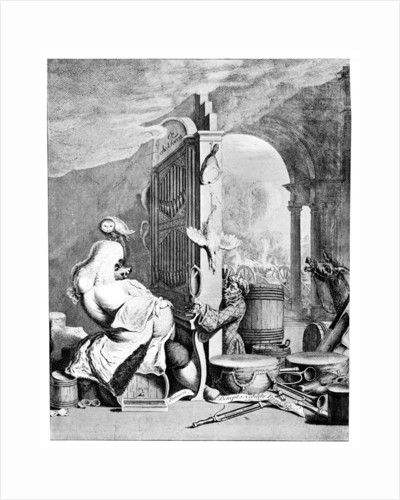 The Charming Brute, (A satire on Handel) by Anonymous
