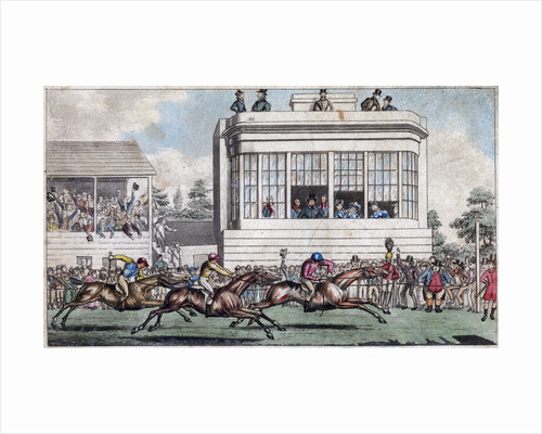 George IV and the Duke of York, The Royal Stand, Ascot by Anonymous