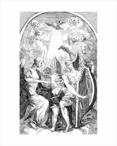 A Satire on the Altar-piece by Kent in St Clement Danes Church, Westminster by William Hogarth