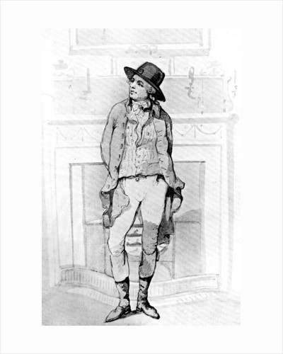 George Morland by Thomas Rowlandson