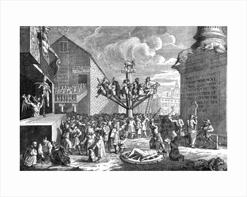 A Satire on the South Sea Company by William Hogarth