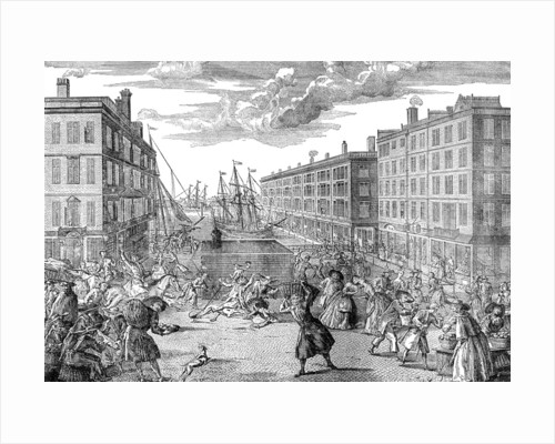 The View and Humours of Billingsgate by Anonymous