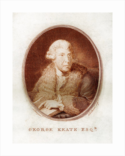 George Keate, author, painter and friend of Voltaire by John Keyse Sherwin