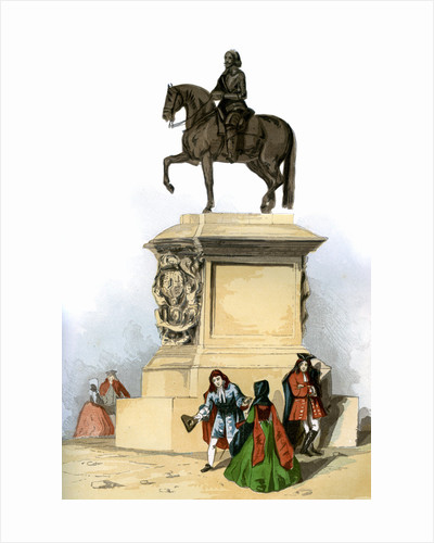 Statue of Charles I, Charing Cross, London by Anonymous