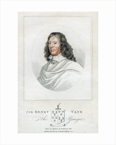 'Henry Vane the Younger', statesman and Member of Parliament by Anonymous