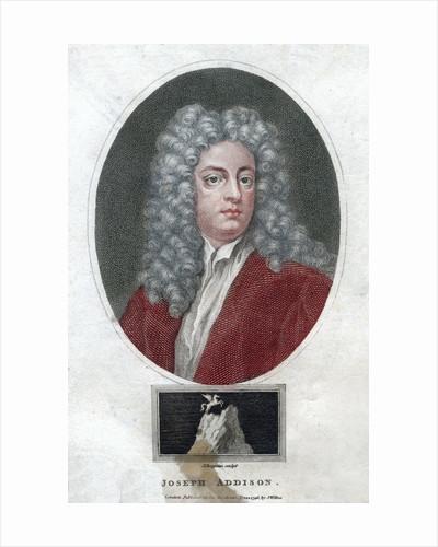 'Joseph Addison', English politician and writer by J Chapman