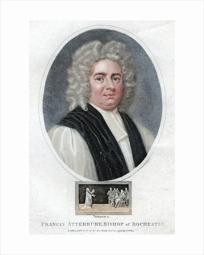 'Francis Atterbury', English man of letters, politician and bishop by J Chapman