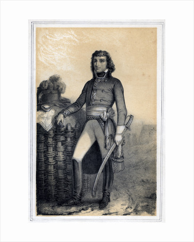 'Barthélemy Catherine Joubert', French general by Jules Alfred Vincent Rigo