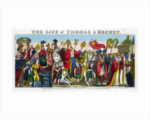 Thomas à Becket's grand Entry into London... by Anonymous