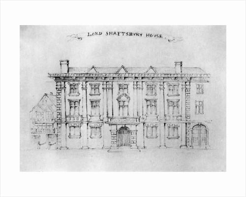 Lord Shaftbury House, Aldersgate Street by Anonymous
