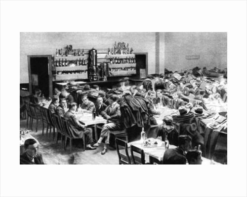 Restaurant for students, Paris by Ernest Flammarion