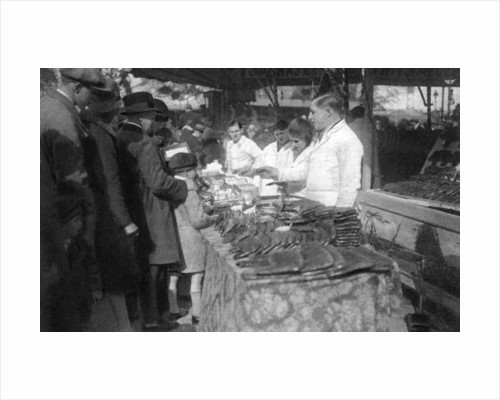 Gingerbread seller, Paris by Ernest Flammarion