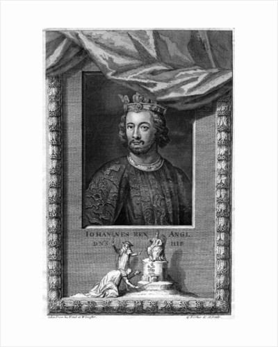 King John of England by George Vertue